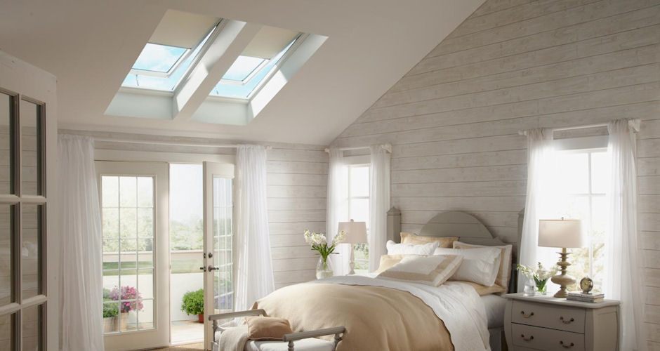 Skylights Bedroom Beige