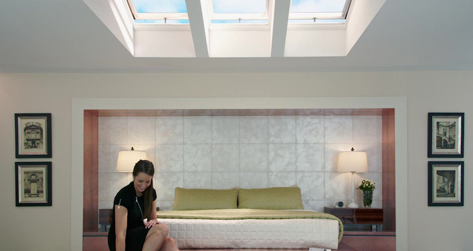 Skylights Bedroom Lady Green