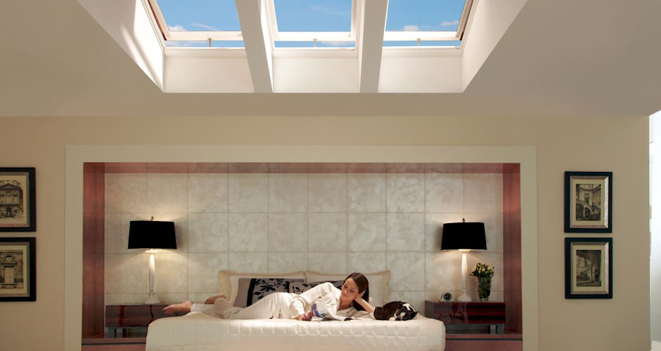 Skylights Venting Bedroom Lady