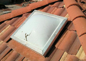 Let AZ Skylightguys repair your broken skylight