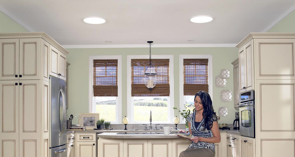 Sun Tunnel Skylights Kitchen Lady
