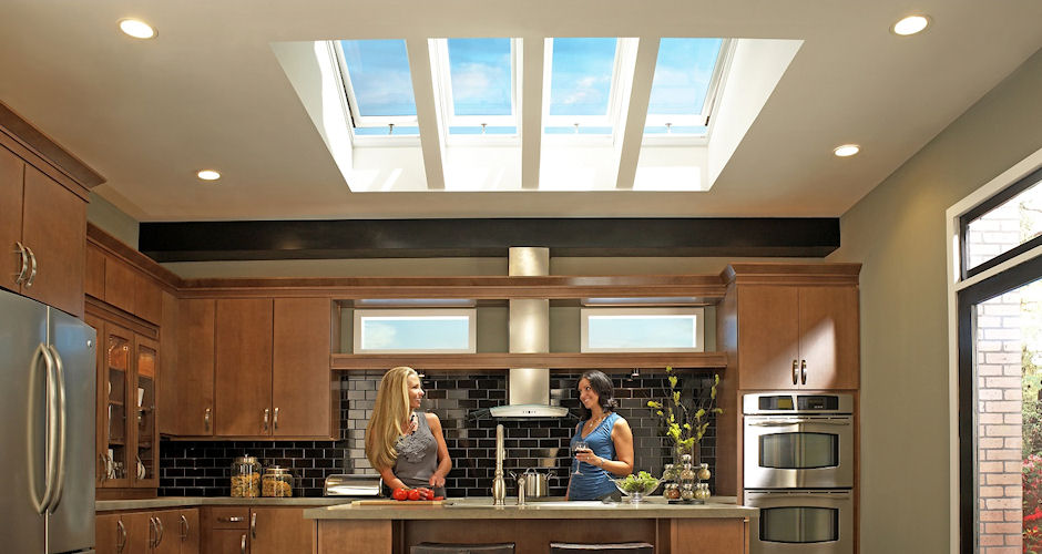 Fresh Air Skylights Kitchen Ladies