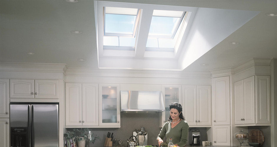 Skylights Kitchen Lady Fresh Air