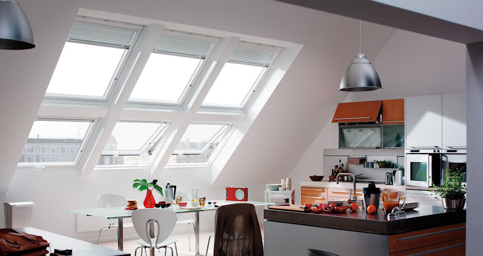 Skylights Kitchen Modern