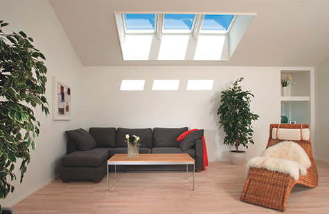 Traditional Skylight Installation in the Phoenix Area.
