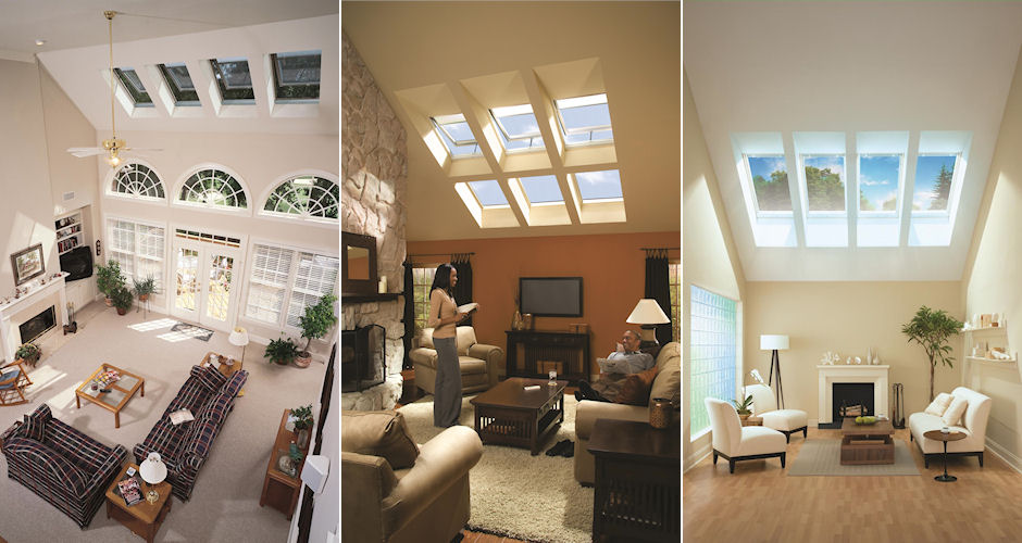 Skylights Living Room 3 in 1